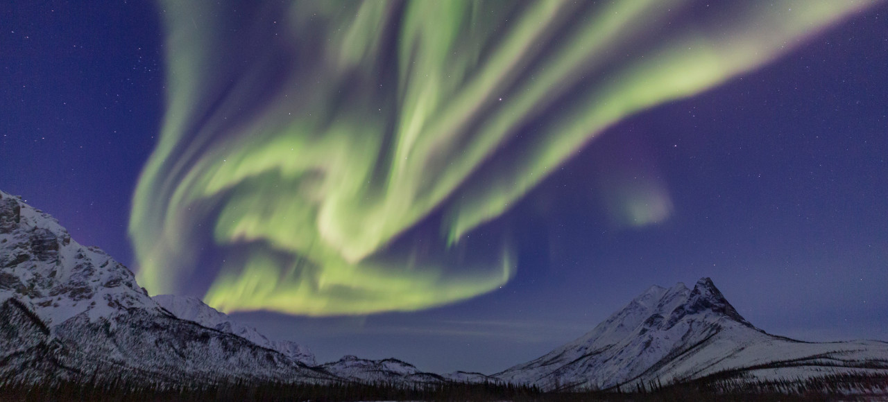 Alaska Brooks Range Northern Lights