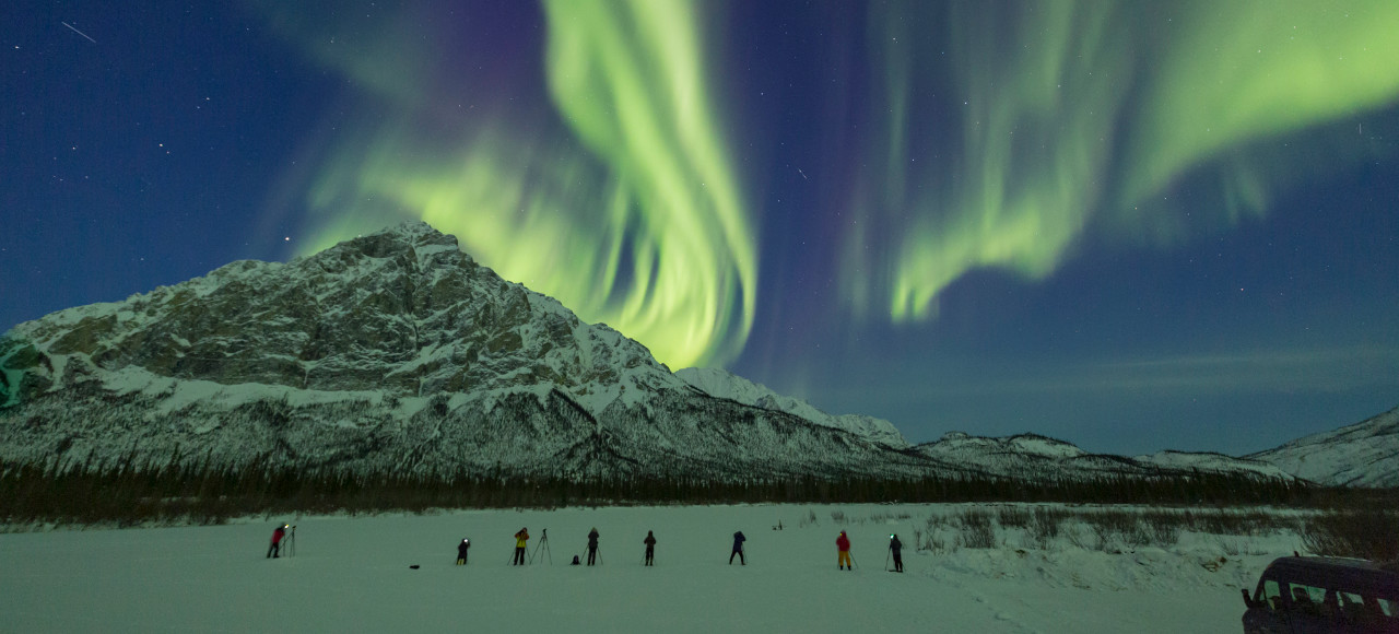 Winter Alaska Northern Lights Tour